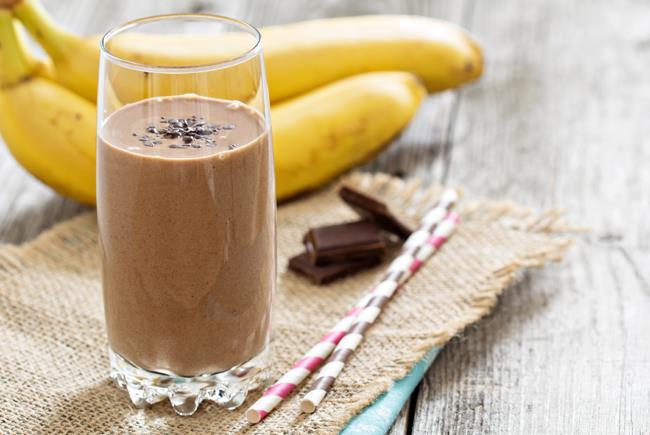 Smoothie μπανάνα-σοκολάτα