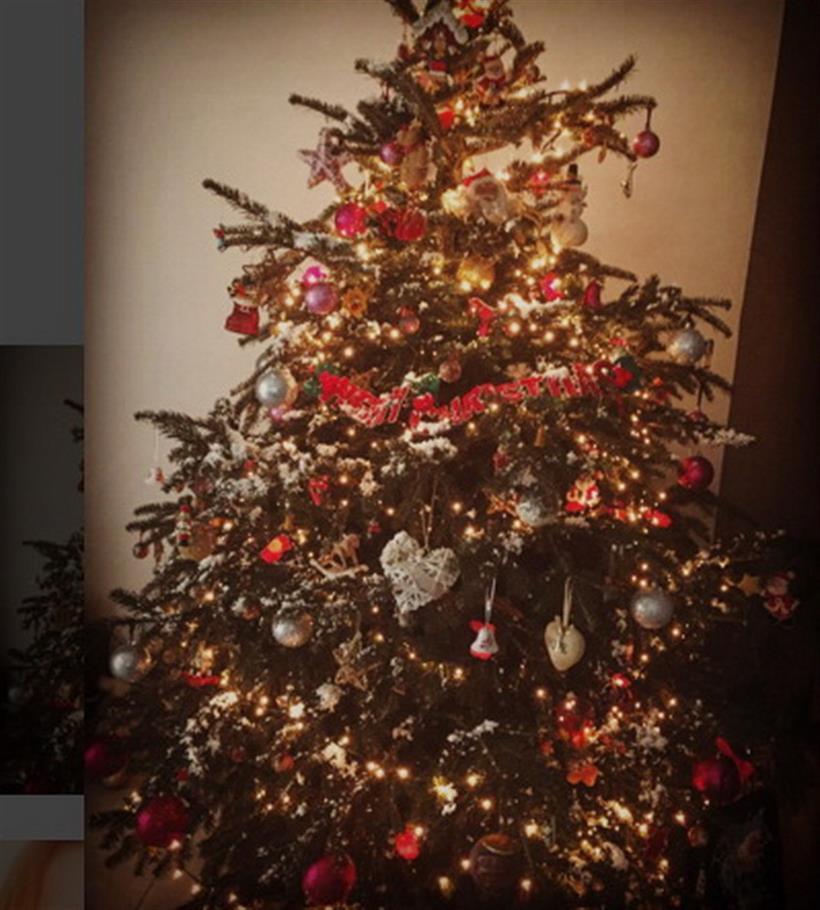 Αναστασοπούλου: Η μέλλουσα μανούλα στόλισε το πιο εντυπωσιακό χριστουγεννιάτικο δέντρο!