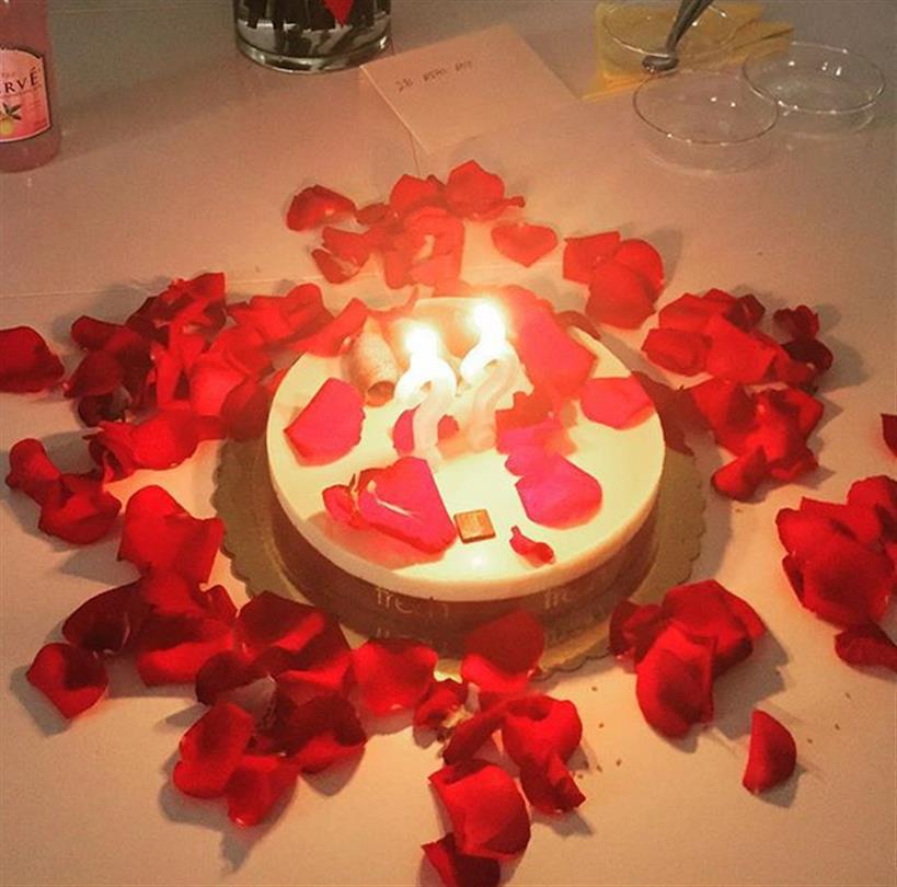 Γωγώ Μαστροκώστα: Η εντυπωσιακή τούρτα - έκπληξη από την κόρη της για τα γενέθλιά της