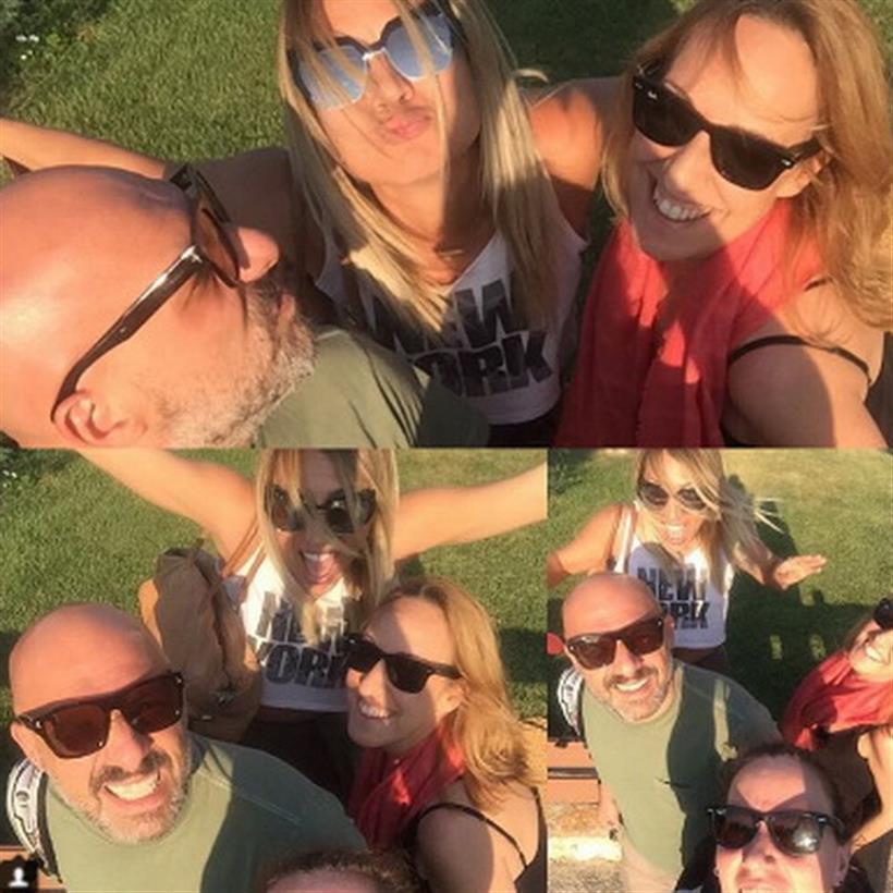 Ηλιάκη: Δημοσίευσε φωτογραφία με τους συνεργάτες της!